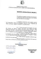 DECRETO LEGISLATIVO Nº 004/2017.