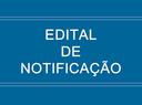EDITAL DE NOTIFICAÇÃO
