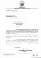 OFÍCIO Nº 040/2019/PGM/PCNRO