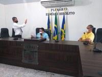 Posse do vereador Gerson de Souza Lima