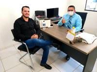 Reunião com o Renato Padeiro, Presidente da Câmara de Ariquemes.