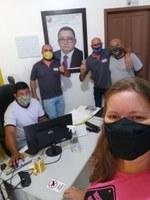 Visita da equipe de suporte da Better Tech.